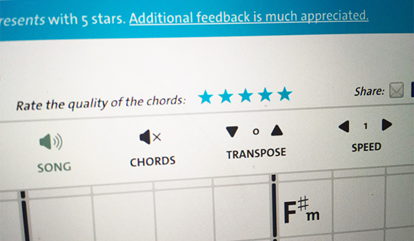 Rate Them Chords Help Achieve Epic Accuracy Blog Chordify