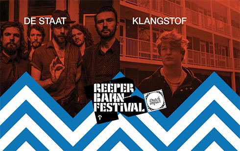 ReeperBahn festival Dutch Impact de Staat Klangstof