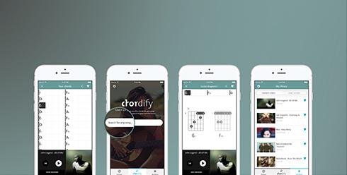 Chordify iOS App Mobile