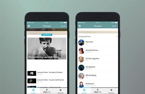 Chordify iOS App Update
