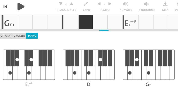 Kết quả hình ảnh cho Chordify piano