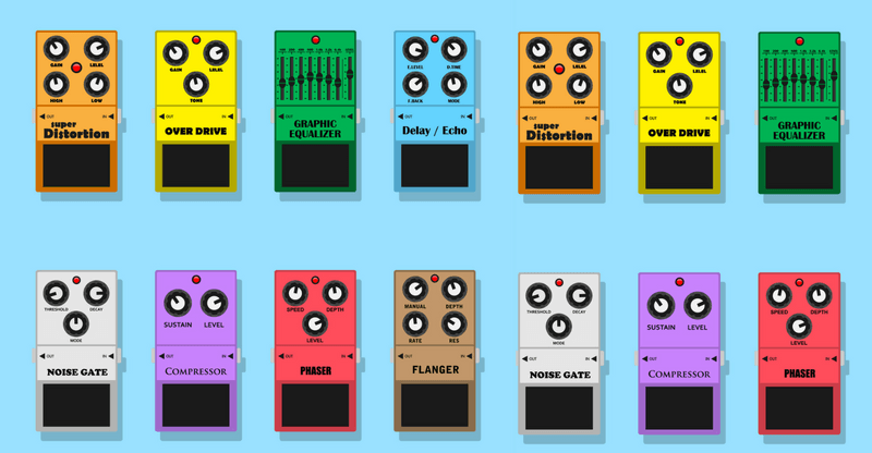 4 must have guitar pedals to rock your socks off blog chordify tune into chords. Black Bedroom Furniture Sets. Home Design Ideas