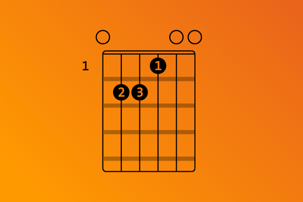 E-Major chord