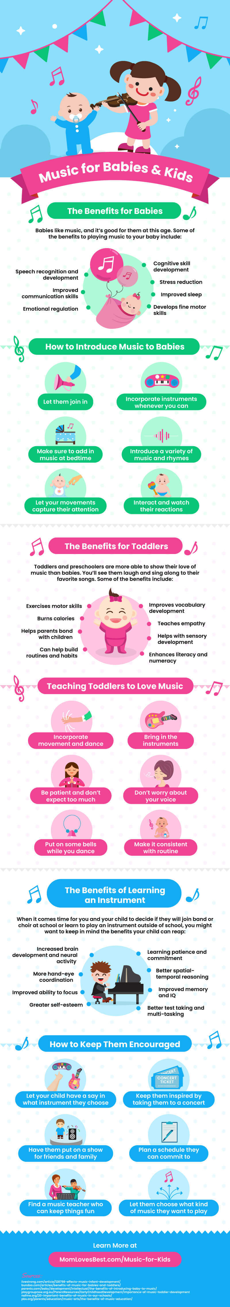 Introducing music to babies: this is how you strike the right chord