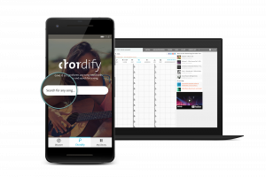 Check out the new Chordify app for Android!
