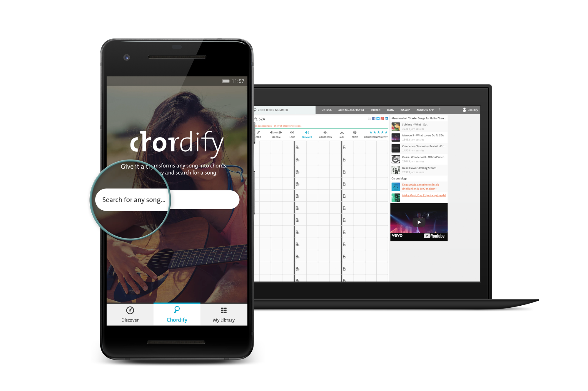 Check Out The New Features Of The Chordify App For Android 20