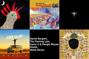 New albums by Karen O & Danger Mouse, Khalid, The Flaming Lips and Daniel Norgren