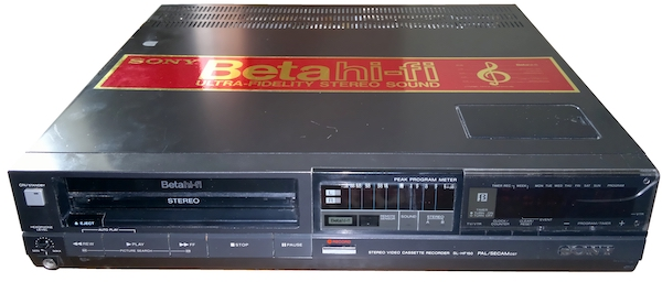 betamax recorder