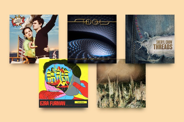 New music by Sheryl Crow, Ezra Furman, Tool, Whitney and
