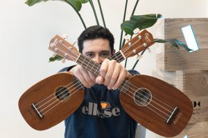 Super Mario vs Teo on the ukulele, a personal story