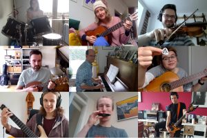 Stay at Home and Jam Channel - Overcome social distancing with musical closeness