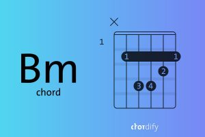 How to play a Bm guitar chord explained in three simple steps
