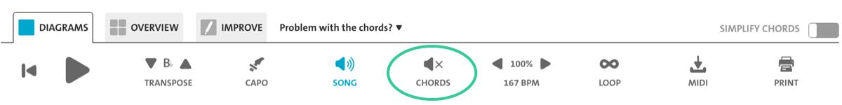 Chordify Premium