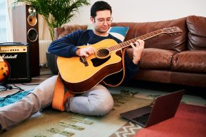 Pump up your guitar skills - Chords and pentatonic scales