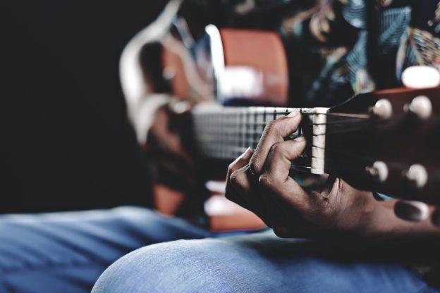 Guitar picking exercise